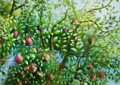 Garden of Apples Detail 1