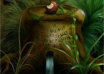 Garden of Apples Detail 3