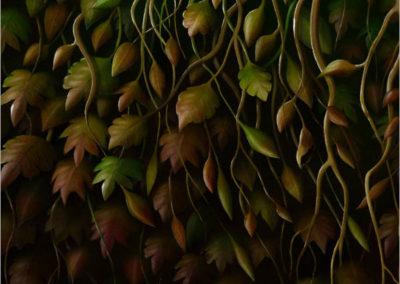 Green Man Detail 3