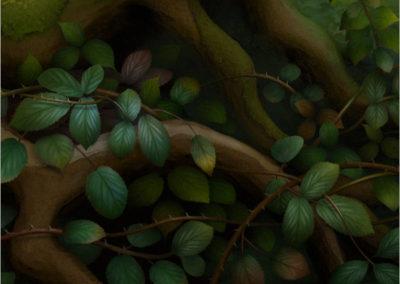 Horse Chestnut Detail 2