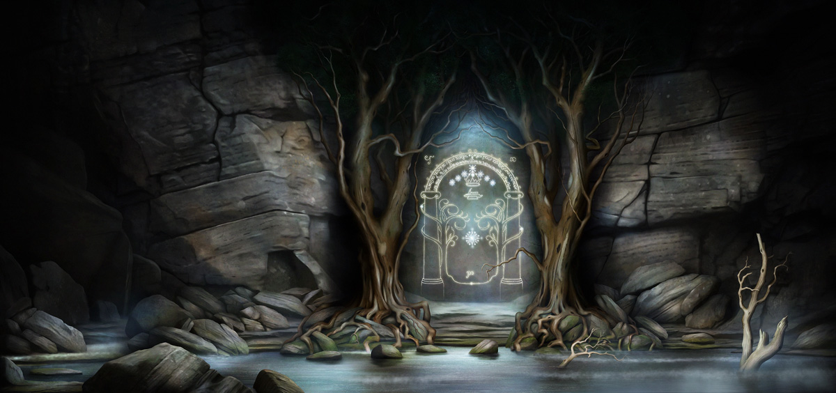 The Doors Of Moria