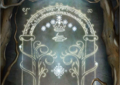 The Doors Of Moria Detail 1